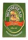 Moosehead Lager Metal Sign Beer Man Cave