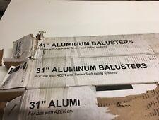 "Azek/TimberTech Black Alum. 31"" Square Stair Baluster AZT31SASTAIRBALB"