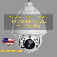 Anbvision 30x Zoom Auto Tracking 1200TVL 960H PTZ High Speed CCTV DOME Camera US