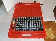 New STARRETT S4011-832 Pin Gage Set Minus Set, 0.751 to 0.832, 0.001, (E22J)