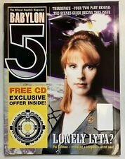 Babylon 5 The Official Monthly Magazine 1998 Vol 2 No 4 Pat Tallman Lonely Lyta?