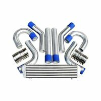 "FRONT MOUNT INTERCOOLER + 2"" 51mm ALUMINUM PIPING  -UNIVERSAL DIESEL TURBO TD42"