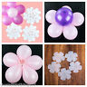 Pack of 5 Balloon flower clips ties for decoration, accessories tie holder