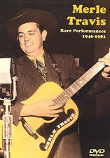 Guitar DVD Merle Travis Rare Performances 1946 1981 NEW