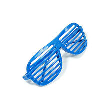 New Full Shutter Blue Glasses Shades Sunglasses Club Party