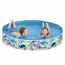Planschbecken Happy Sea Pool ø150x25 Kinderpool Schwimmbecken mit festen Wänden