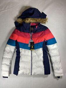 Mountain Warehouse  Woman's Ski Jacket - Pink  Snow Coat - Size Women 4