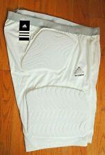 L@K! Nwt Mens Adidas Techfit 5 Pad Football Compression Shorts 4Xl White $65.00