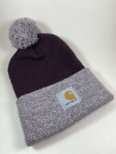 Carhartt Beanie | Deep Wine Lookout Hat | 100% Authentic New