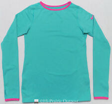 Nike Pro Cold Weather Fitted Crew Shirt Youth Kids Girls XL 16-18