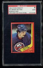 Bryan Trottier #25 signed autograph auto 1982-83 McDonald's Card SGC Authentic