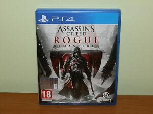 ASSASSIN'S CREED ROGUE REMASTERED PS4 PLAYSTATION 4 USATO SICURO VERS ITALIANA