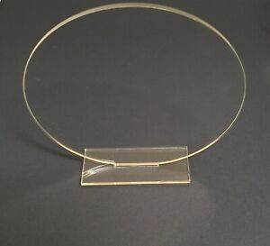 Blank Plaque With Stand. Clear Acrylic. Various Shapes & Sizes. 3mm Depth