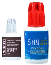 Eyelash Extension Super Bond Glue + Primer + Gel Glue Remover Lash Extension Set