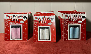 Magic Birthday Trick Candle Packets 400 Trick Candles Vintage