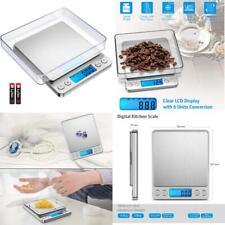 Brifit Digital Pocket Scales, (500G/ 0.01G) High-Precision Kitchen Food Scales,