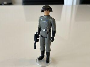 Vintage Star Wars Figure Stunning 1977 Death Star Commander With Blaster