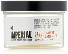 Imperial Barber Field Shave Soap Canister 6 oz