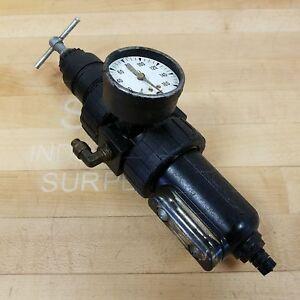Speedaire 3JV28 Pneumatic Filter Regulator, 250PSI 175 F° 1700 kPa - USED