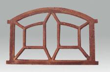 Eisenfenster Stallfenster, Fenster antik für Garten Ruine, De Spin klein 65x44cm
