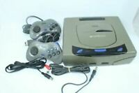 Sega Saturn Console Gray Tested Working Japan