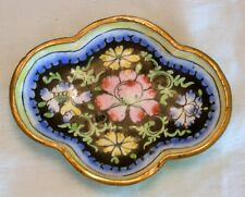 Vintage Cloisonne Pin Tray 1 of 2 Listed China Floral