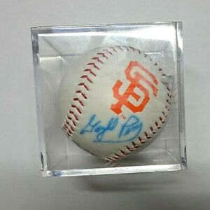 Autographed Baseball Gaylord Perry HOF 2 Time CY Pitcher San Francisco Giants