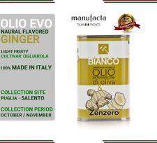 Extra virgin olive oil ITALY  Olio extra vergine di oliva PUGLIA  ZENZERO