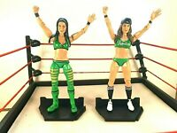 WWE Bella Twins Figures - Mattel Battle Pack Series 38 - Loose - WWF - Great