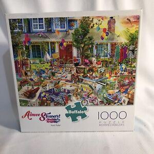 Buffalo Games Aimee Stewart Yard Sale Jigsaw Puzzle - 1000 Pieces