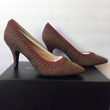 NWB Athena Alexander Heels Pumps Womens Size 8.5 Brown And Red