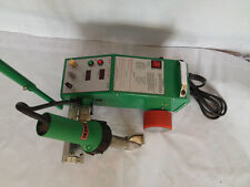 Intelligent PVC PE Flex Banner Seam Welder with 1600W Leister Heat Gun 220V Y