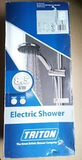 TRITON ENRICH 8.5kW  ELECTRIC SHOWER - SFXENR08WC WHITE/CHROME EASY INSTALL BNIB