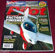 Pilot Magazine 2009 August SportCruiser,Piper Meridian,Maule,KZII