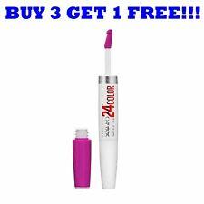 Maybelline Superstay 24hr Super Impact Lip Colour 24/7 Fuchsia