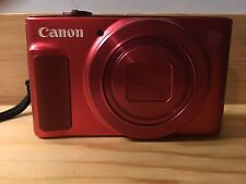 Canon PowerShot Sx620 HS 20.2mp 25x Zoom Red Digital Camera With 32 Gb Sd Card.