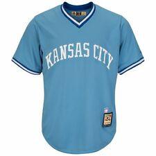 Kansas City Royals MLB Men's Cool Base Cooperstown Pullover Jersey L