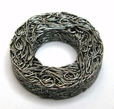 """Vibration Damping Washer, Stainless Steel Wire Mesh, 5/8"""" ID, (Qty 4)"""