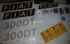 Serie Decacolmania-Adesivi Per trattore Fiat 300 DT....