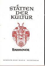 Staetten der Kultur Hannover - Zeichnungen von Wolfgang von Duisburg von vor '43