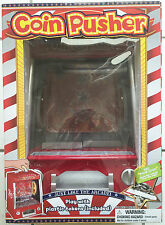 Novelty Mini Arcade Coin Pusher Game   New  3+