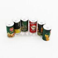 Mini Dosen 1zu12 Kaufmannsladen Zubehör Konserve Konservendose Lebensmittel 1:12