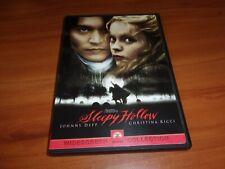 Sleepy Hollow (DVD, 2000, Widescreen)