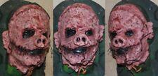 HORROR PIG MASK CUSTOM HALLOWEEN PIG SCARY BUTCHER SLASHER ED GEIN SERIAL KILLER