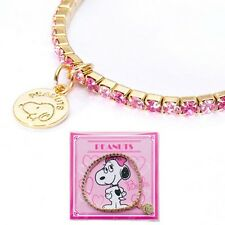 Peanuts Gang Snoopy Bracelet with Charm from Japan EC Limited Edition
