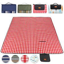 SMJ Picknick Decke 150x200 cm Campingdecke Reisedecke Stranddecke Matte
