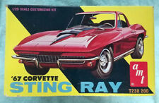 52 year old AMT 1967 Corvette 3in1 customizing kit 100% complete & unbuilt