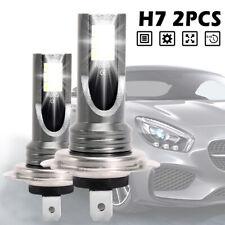 2x H7 LED 6000K 12V 12000LM Super Bright Auto Fog Luce Lampade Bianco