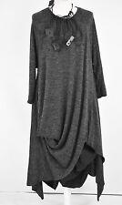 STUNNING DESIGNER 'SHE'  PARACHUTE STRUCTURED  DRESS SIZE L/XL BARELY BLACK