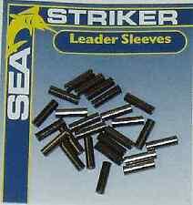 Sea Striker 3-B Brass Leader Sleeves Black .065 ID 33Pk